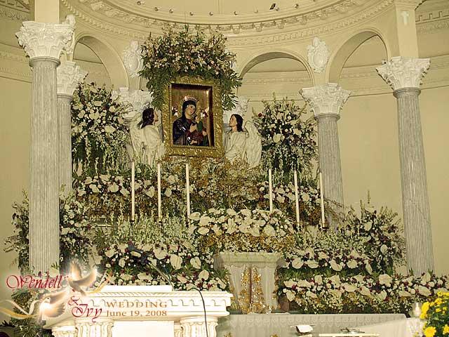 Cebu Redemptorist Church Wedding Arrival in Church The Groom 39s Relatives