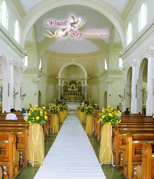 arrival at redemptorist church wendell amp ivy wedding