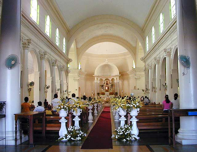 tour of redemptorist catholic church wendell amp ivy wedding