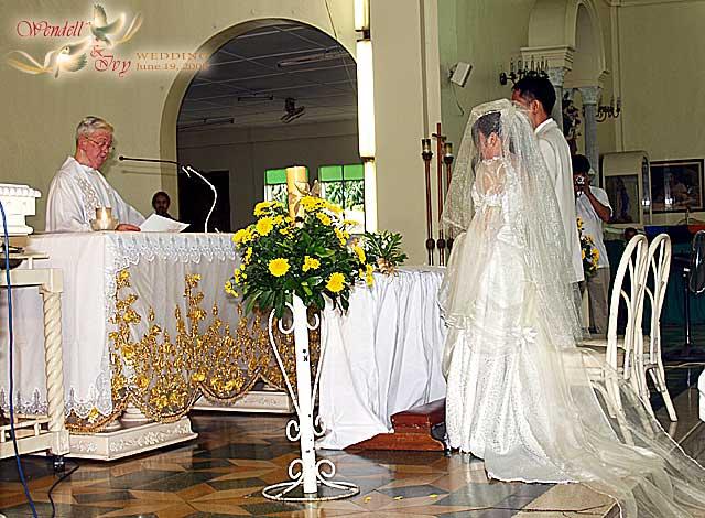 Wendell jisa wedding