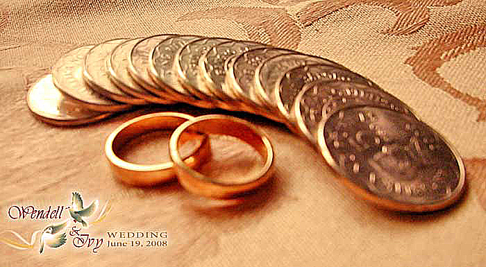 Wedding Rings And Coins