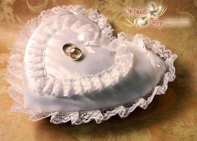 Подушки на свадьбу своими руками