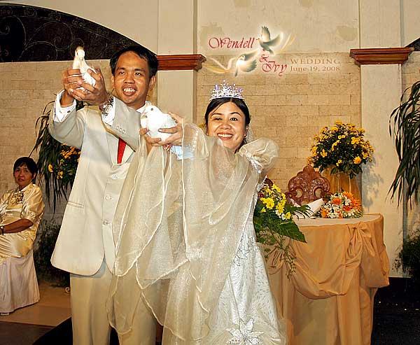 Reception Programme Wendell Ivy Wedding