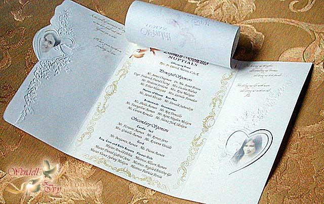 Design Card Wedding Invitation: Wendell & Ivy Wedding